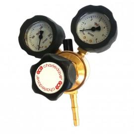 Mano detendeur oxygene raccord type f 0-4 bars