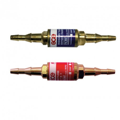 Clapet anti- retour montage tuyau