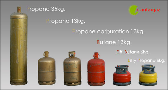 Gaz Matériel Auvergne - Bouteilles de gaz
